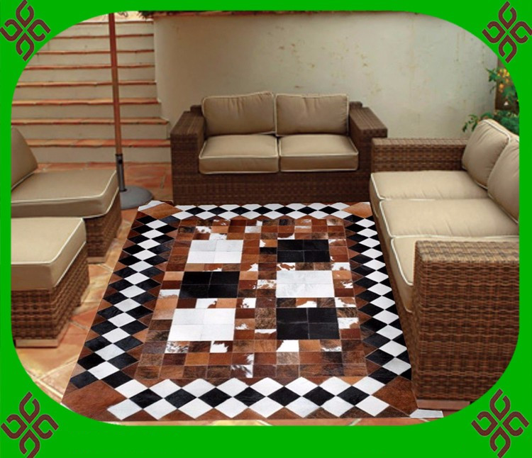 free shipping via dhl 100 natural genuine cow leather indoor outdoor carpet lowes - Outdoor Carpet Lowes