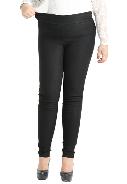 2XL 4XL 6XL 8XL 10XL Tallas grandes Mujeres Lápiz Pantalones Moda - Ropa de mujer - foto 3