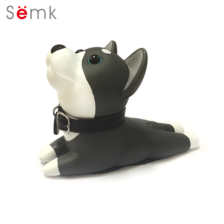 Semk Dog Door Wedge Cute Cartoon Door Stopper Holder PVC - Խաղային արձանիկներ - Լուսանկար 4