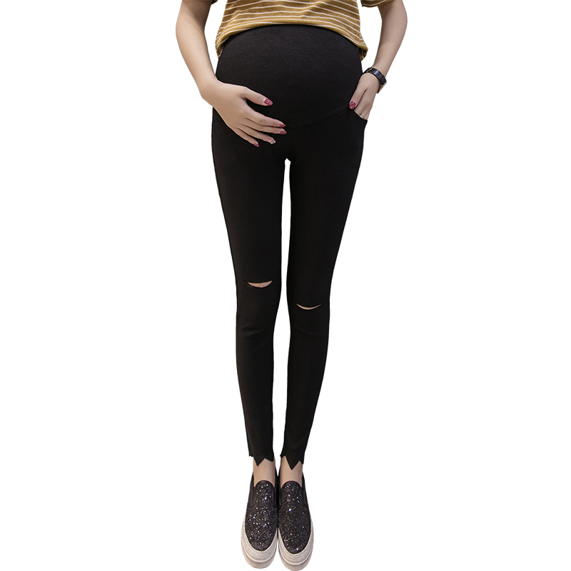 Maternity Pencil Pants for pregnant Skinny leg pregnancy clothes maternity clothes cloth ...