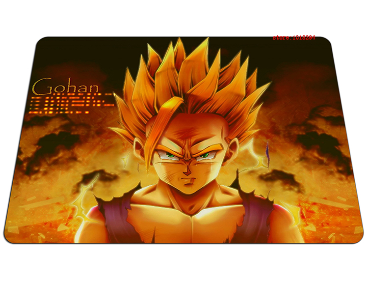 Dragon Ball mouse pad Gohan mousepad laptop Dragon Ball Z mouse pad gear notbook computer anime gaming mouse pad gamer