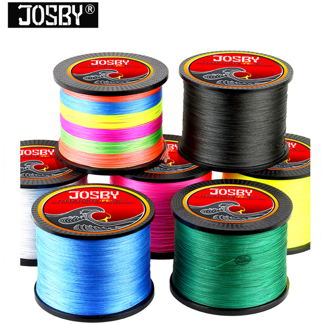 300M 500M 1000M 8 Strands 4 Strands 10-80LB PE Braided Fishing Wire Multifilament Super Strong Fishing Line Japan Multicolor