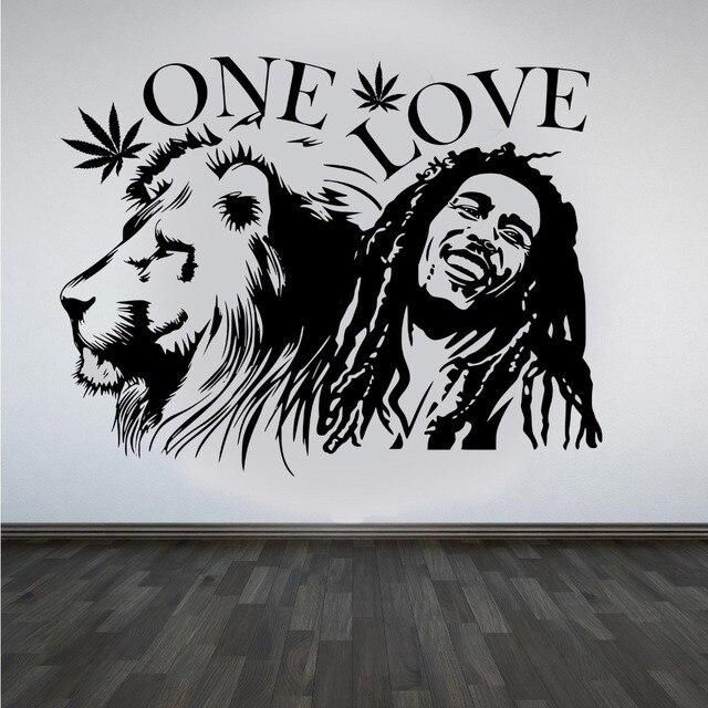 Adesivos De Parede Leão Bob Marley Zion  Part 2