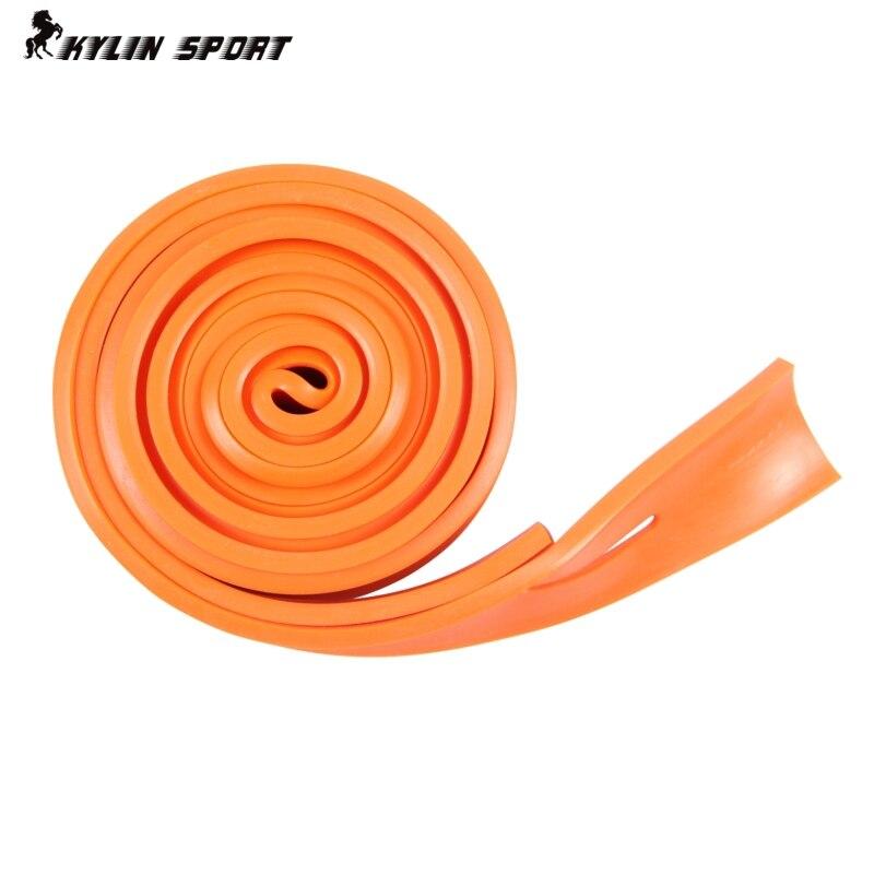 2,5 m orange Widerstandsband Flaches Gummiband Gummiband 2,5 m langes Widerstandsband