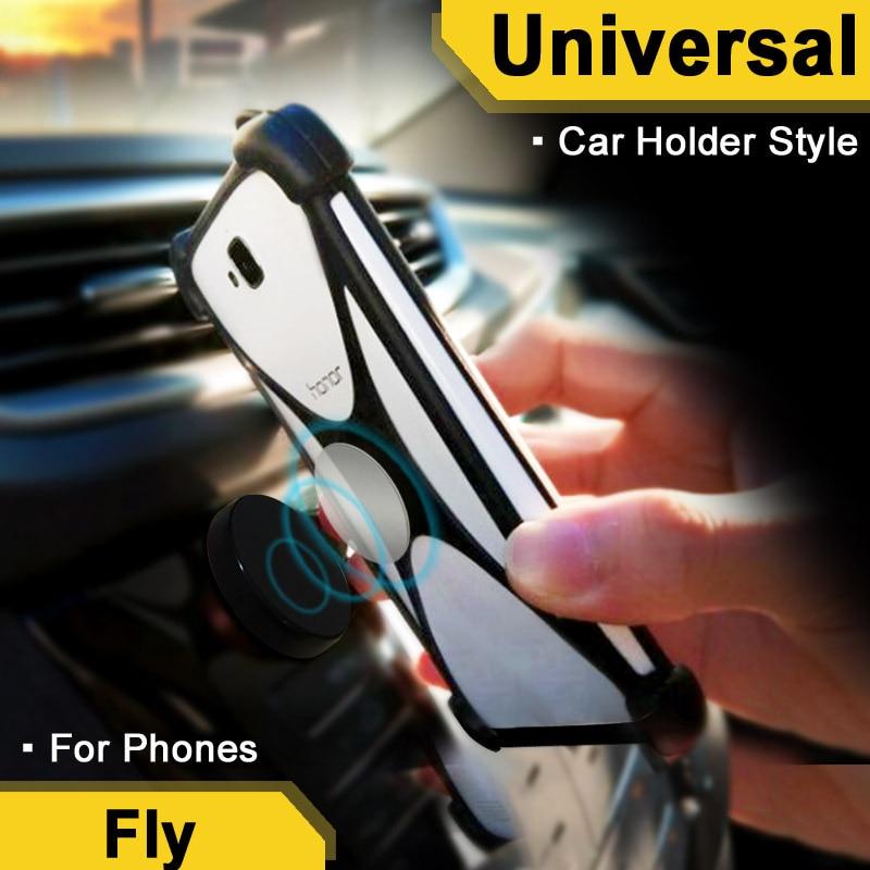 Fly IQ4503/IQ4505 Quad ERA Life 6/7 case Traffical case For Drivers Fly IQ4409 Quad ERA Life 4 cover Elastic Car Holder