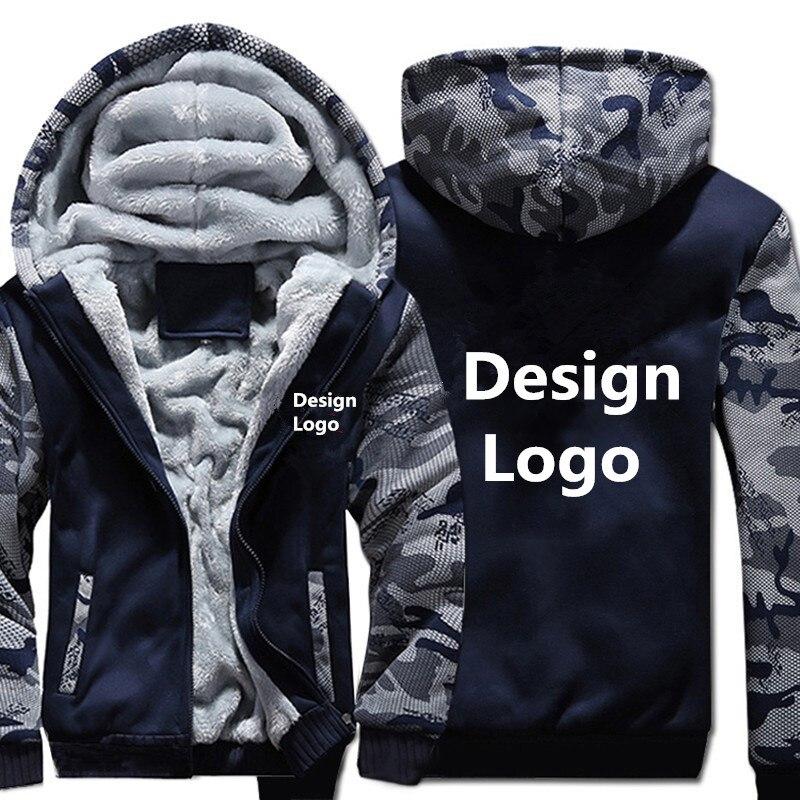 Новинка 2018 года для мужчин's толстовки Бесплатная CustomizeLogo дизайн клиента узор мужчин куртка из плотного флиса плюс размеры