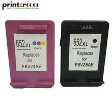 einkshop 652XL Remanufactured Ink Cartridge Replacement for hp 652 xl Deskjet 1115 1118 2135 2136 2138 3635 3636 3835 4535 4538