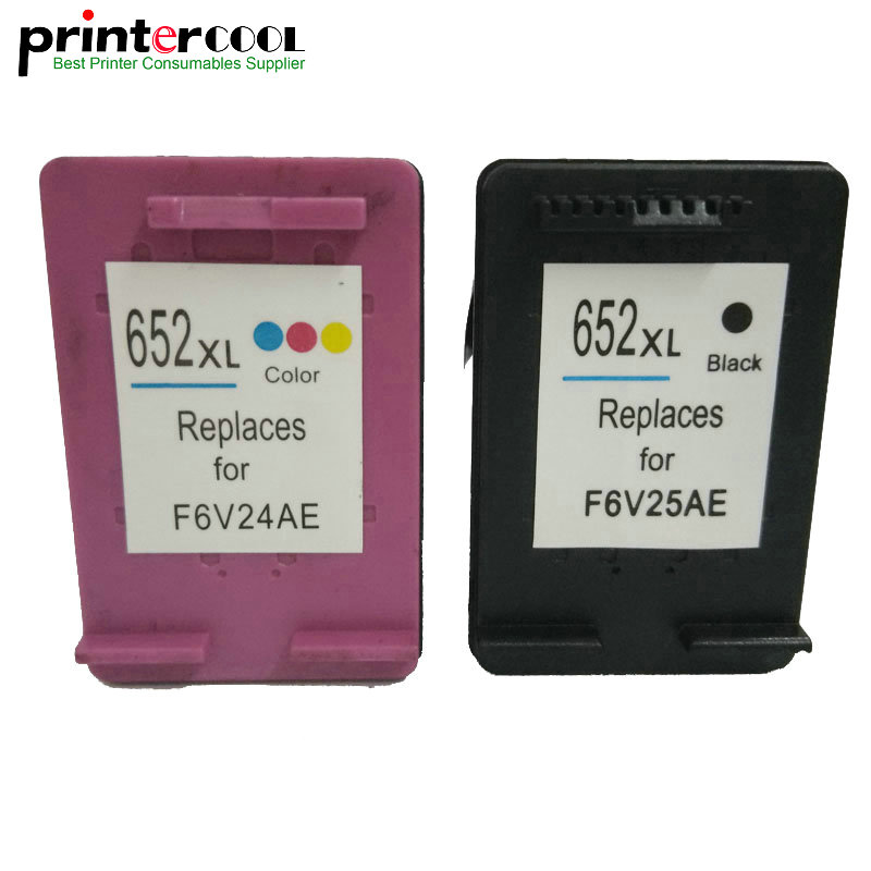 einkshop 652XL Remanufactured <font><b>Ink</b></font> <font><b>Cartridge</b></font> Replacement for <font><b>hp</b></font> <font><b>652</b></font> xl Deskjet 1115 1118 2135 2136 2138 3635 3636 3835 4535 4538 image