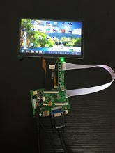 Best price 7.0 inch TFT LCD display with CTP touch screen panel driver board keyboard kit for Raspberry Pi/Orange Pi/Banana Pi