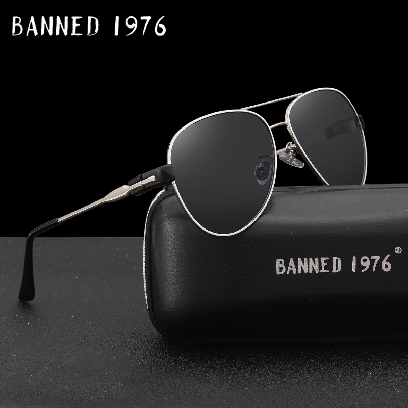 54dab02a62cb9 BANNED 1976 Luxury Sunglasses Women Brand Designer Female Retro Large Sun  glasses UV400 oculos de sol