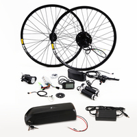 New Arrival Electric Bicycle Kit 48V 8/10/13AH Kettle Battery Ebike Conversion Kit With 350W Motor bicicleta Free shipping bike