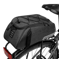 ROSWHEEL 141465 Mountain Road Bike Bicycle Cycling Rear Seat Rack Trunk Bag Pack Pannier Carrier Shoulder Bag Handbag