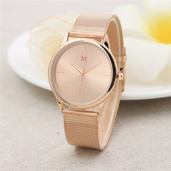 Gold Schwarz Mesh Edelstahl Uhren Frauen Top Marke Luxus Casual Uhr Damen Armbanduhr Relogio Feminino #4M10