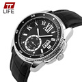 Watches Men Luxury Brand TTLIFE Fashion Casual Sport Quartz Watch Men Waterproof 30M Leather Wrist watches relojes hombre 2016