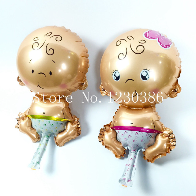 10 Pcslot Cartoon Baby Shower Balloons Helium Foil Balloons