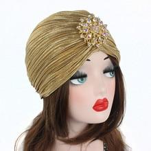 Beading Decal Soft Muslim Full Cover Inner Women's Hijab Cap Islamic Underscarf Hat Women Full Head Cap Hats Wholesale