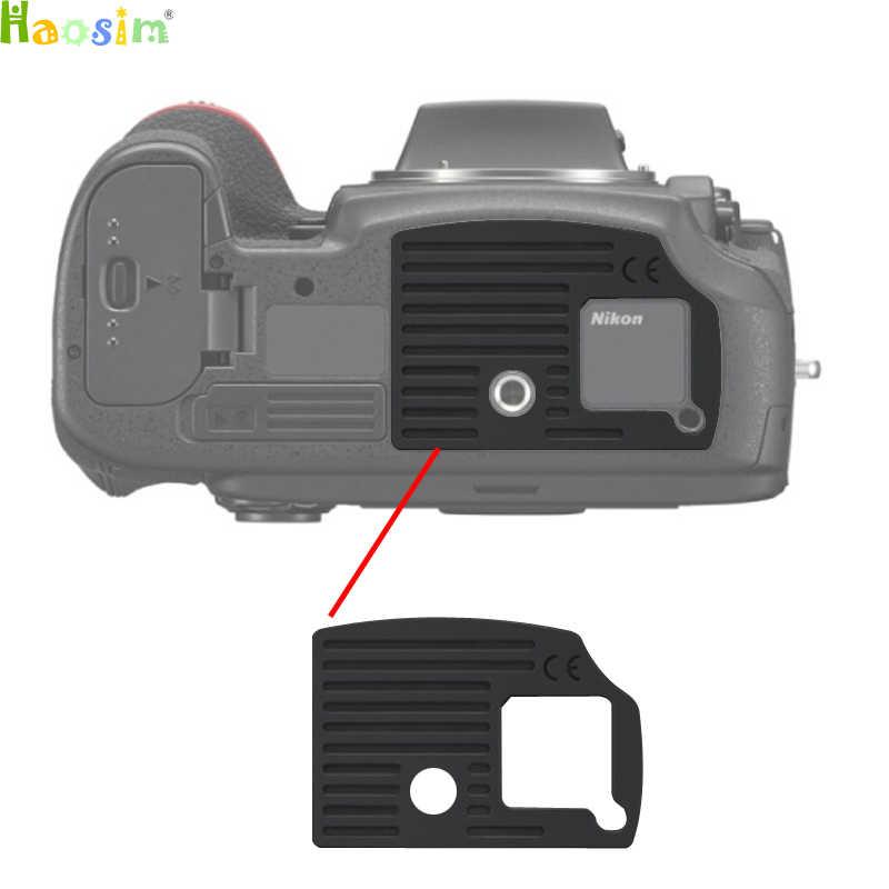 Para Nikon D800 D800E DSLR Camera Substituição D810 ornament capa de Borracha Inferior Da Unidade Repair Parte