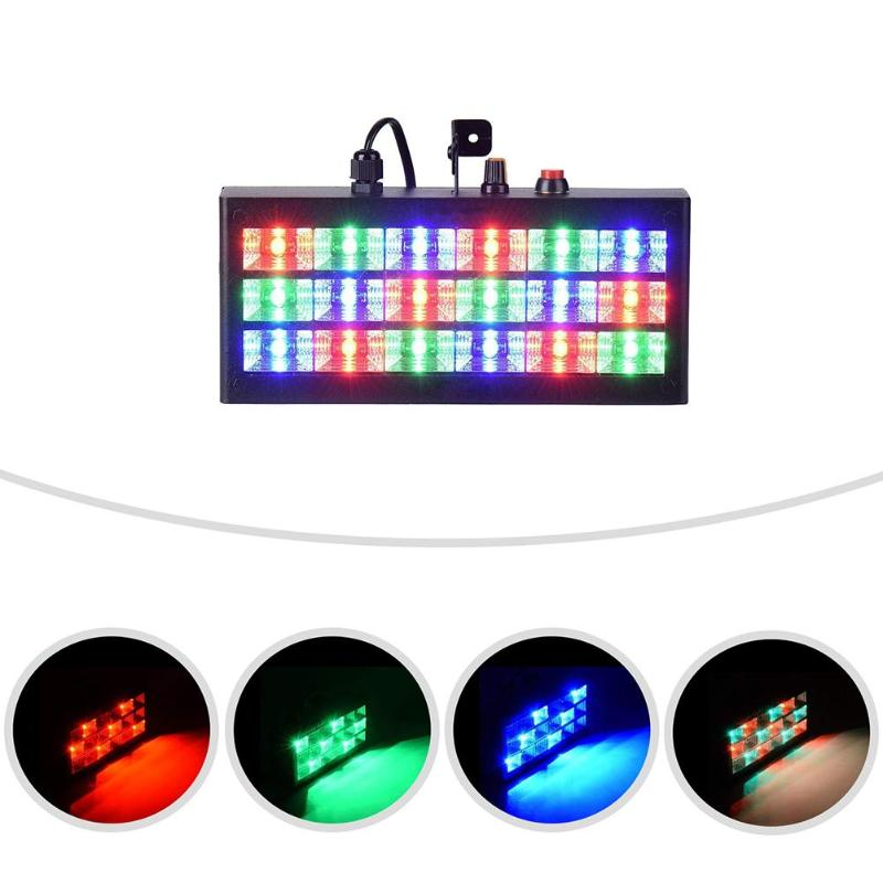18 LED Strobe RGB Flash Light Stage Lighting Sound Activated Christmas DJ KTV Party Projector Club Bar Decor Lamp18 LED Strobe RGB Flash Light Stage Lighting Sound Activated Christmas DJ KTV Party Projector Club Bar Decor Lamp