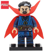 POGO Super Heroes Doctor Strange DIY Block With Lepin Building Model Set Single Sale PG049 Classic