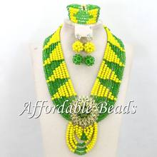 Indian Bridal Jewelry Set Marvelous African Jewelry Set Popular Style Wholesale Free Shipping BN542(China)