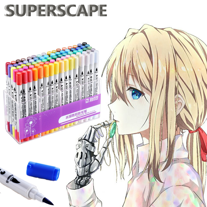 80 Colors Art Markers Set Sketch Colorful Alcohol Based Double Head Nib Brush Pens for Artist Comic Sketch Marker Design Pens80 Colors Art Markers Set Sketch Colorful Alcohol Based Double Head Nib Brush Pens for Artist Comic Sketch Marker Design Pens