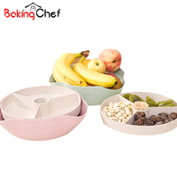 Snacks Fruit Storage Boxes Divided Food Finisher Holder Home Organizer Accessories Supplies Gear Stuff Product
