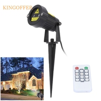 Christmas Laser Projector Stars Red Green Showers lights Outdoor Waterproof IP65 Garden Decoration Static Twinkle with RF remote
