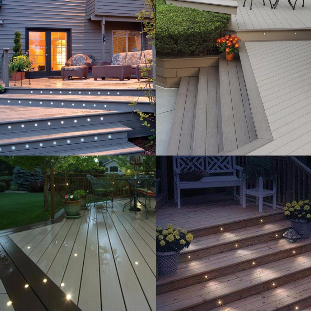 Us 82 79 8 Off Low Voltage 12v Outdoor Step Lights Home Decor Floor Room Under Stair Lighting Outside Patio Lamp Recessed 20pcs Set B105 20 In Led