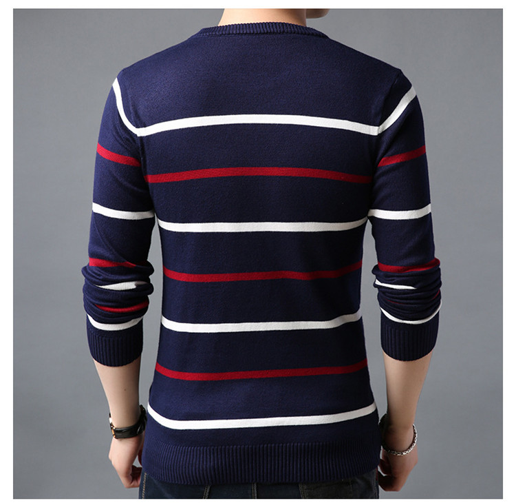 outono inverno lã fino camisola de malha