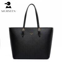 High Quality Leather Women Tote Bag Shoulder Bags Large Solid Big Handbag Large Capacity Top Handle