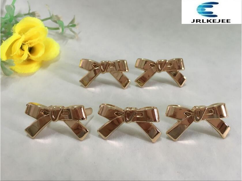 Free shipping (10 PCS/lot) high quality pretty little bow sandal shoes button clip DIY manual metal Shoe Decorations 20pcs lot free shipping 5 design diy hair accessory bow flowers pearl buttons alloy rhinestone button bt05