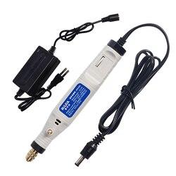 Mini Bohrer Elektrische Gravur Stift Variable Speed Dreh Einstellung Mini Elektrische Bohrer Schleifen Carving Tools Power Tools
