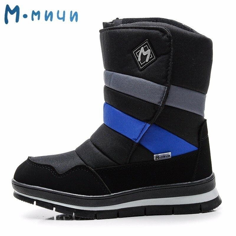 nickxxxblog: Achat MMnun Bottes Enfants Anti slip De D hiver