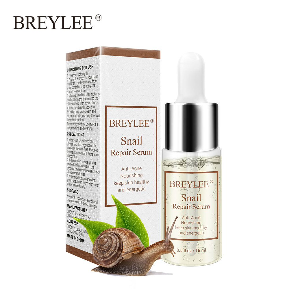 new BREYLEE Hyaluronic Acid Serum Snail Essence Face Cream