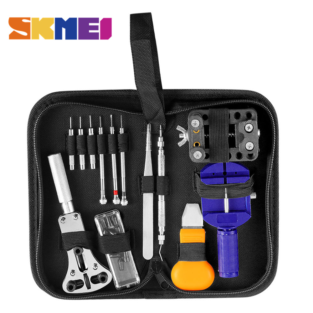New Tool For Watch Repair Tool Kit Set Watch Case Opener Link Spring Bar Remover Screwdriver Tweezer Watchmaker Dedicated Device 16pcs professional watch repair kit for watchmaker