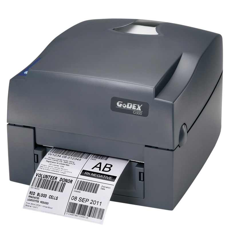 Pita printer Godex G500U 203 dpi barcode thermal label printer USB stiker kertas pakaian hang tag Impressora multifuncional
