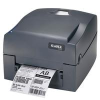 Godex Ribbon Printer G500U 203dpi Thermal Barcode Label USB Printer Stickers Paper Clothes Hang Tag Impressora