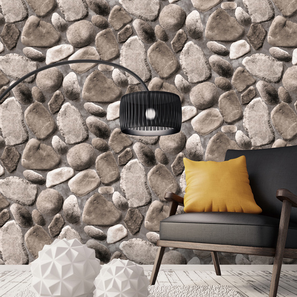 3d papel de parede Vinyl Rock 3D brick stone wallpaper rolls for Living Room wall paper background 3d wallcoverings home decor купить
