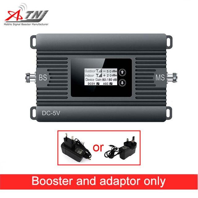 신제품! 80dbi 이득 2g 3g 850 mhz 모바일 신호 부스터 cdma 850 mhz celular 신호 증폭기 리피터 전용 리피터 + 어댑터