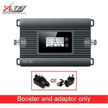 Neue produkt! 80dBi Gain 2G 3G 850MHz Handy Signal Booster CDMA 850MHz Celular Signal Verstärker Repeater Nur Repeater + Adapter