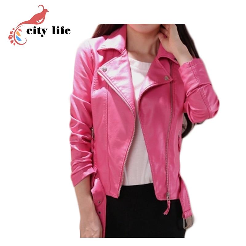 Online Get Cheap Pink Biker Jacket -Aliexpress.com | Alibaba Group