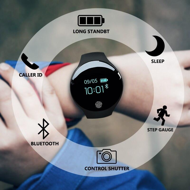 Touch Screen Smartwatch Motion detection Smart Watch Sport Fitness Men Women Wearable Devices For IOS AndroidTouch Screen Smartwatch Motion detection Smart Watch Sport Fitness Men Women Wearable Devices For IOS Android