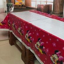 Minnie Mouse Patterned Tablecloth