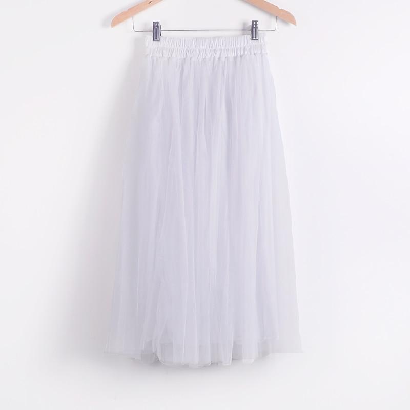 Beauty Long Tulle Skater Skirt 2