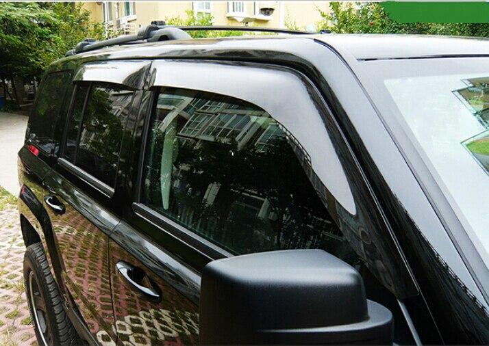 Window Visor Vent Sun Shade Rain Guard 4pcs Fits BMW X1 E84 2012-2015