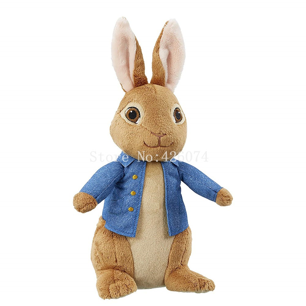 New Peter Rabbit Plush For Girls Big 55CM Kids Stuffed Animals Toys Children Gifts