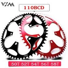 VXM Road Bicylcle 110BCD Кривошип 50T 52T 54T 56T 58T звездообразная цепь сплав Сверхлегкая подъемная силовая звездообразная пластина велосипедные детали