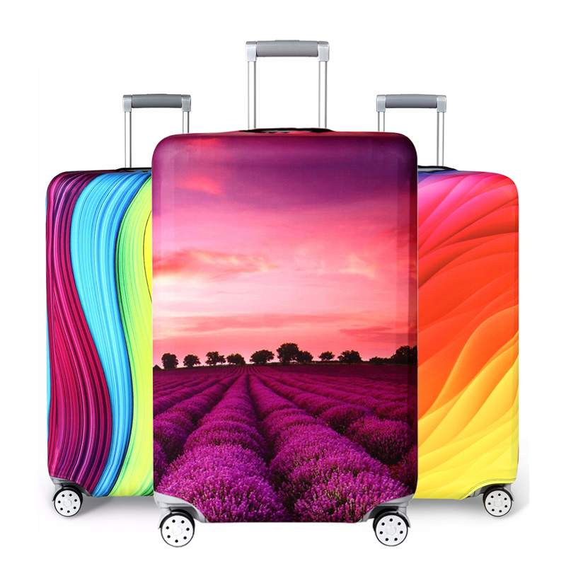 Brand Suitcase Elastic Protective Cover Luggage Cover Travel Accessories 18to32 Inch Travel Trolley Suitcase Case Luggage Cover