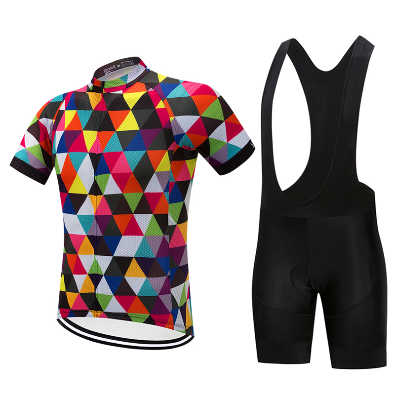 8c01b7e49 2018 Man Summer Short Sleeve Breathable Cycling Jersey Set Mountain Bicycle  Wear Quick Dry Racing Bike Clothing Ropa Ciclismo-in Cycling Sets from  Sports ...