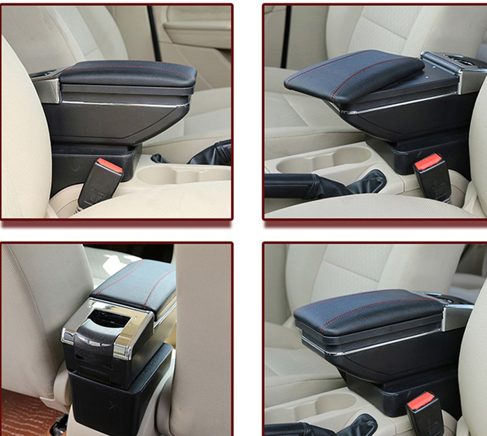 Car Interior Parts >> Us 43 66 20 Off Leather Car Interior Parts Center Console Armrest Box For Nissan Kicks 2016 2017 2018 Auto Armrests Storage With Usb In Armrests